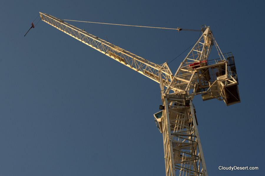 A crane