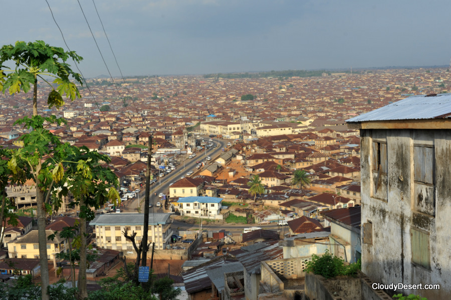 A view of the older part of Ibadan