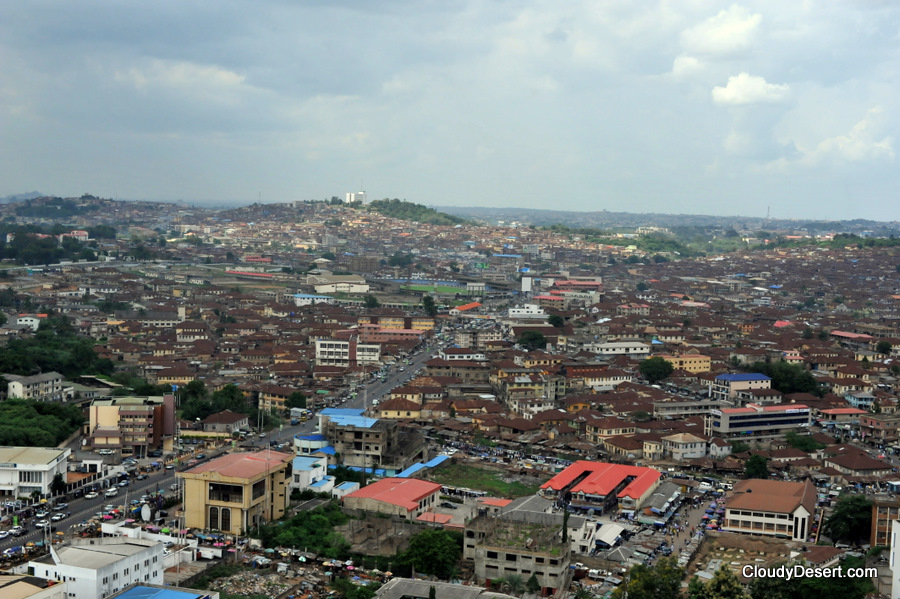 A view of Ibadan city centre